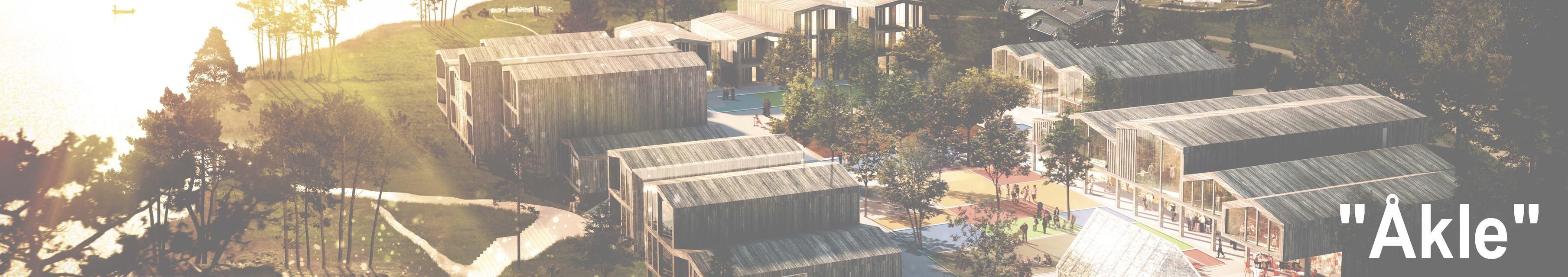 Åkle - Fremtidens landsby, sentralt på Birketveit