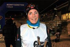 Eldbjørg Moxnes i første renn i OBIK Bull Skikarusell 2014. Foto: Erik Borg.