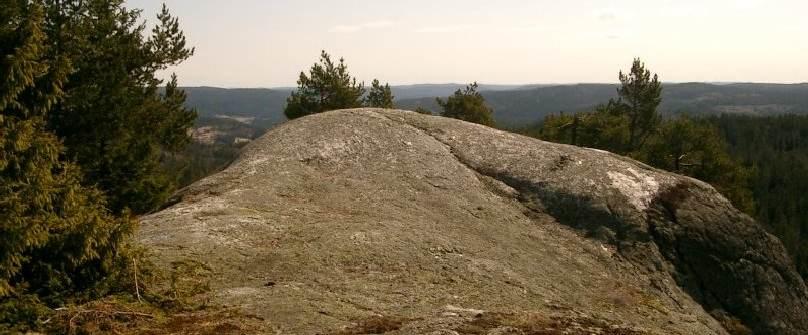 Avdagsfjellet ligger helt nord i kommunen. Fantastisk utsikt!