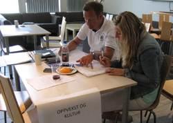 Beredskapsøvelse 2013 - Øvelse, kraft, tele, informasjon - Oppvekstledere forbereder ekstremværer