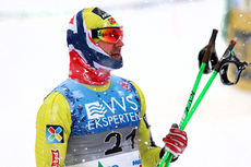 Øystein Pettersen har akkurat gjort unna sprint-prologen i norgesmesterskapet på Lillehammer 2014. Foto: Geir Nilsen/Langrenn.com.