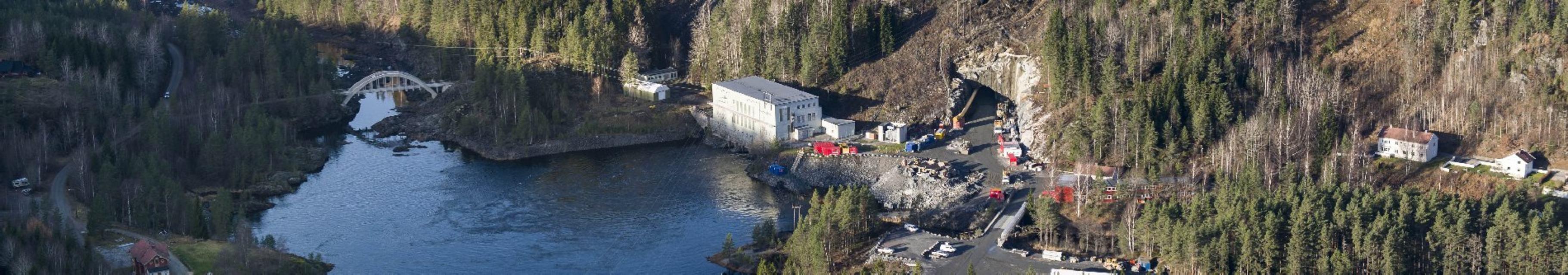 Iveland kraftstasjon utvides og vil stå ferdig i 2016.