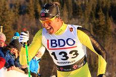 Chris Jespersen i Beitosprinten. Foto: Erik Borg/Langrenn.com.