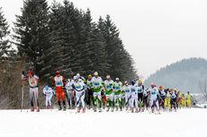 Tetgruppa underveis i König Ludwig Lauf 2014. Foto: Rauschendorfer/NordicFocus.