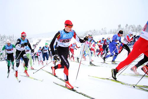 Illustrasjonsbilde fra NM 2014. Foto: Geir Nilsen/Langrenn.com.