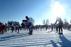 En tidligere utgave av Trysil Skimaraton. Foto: Østby IL.