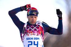 Ole Einar Bjørndalen på vei mot nok et OL-gull, denne gangen på sprinten i Sotsji 2014. Foto: NordicFocus.