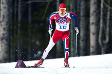 Anders Gløersen ute i sprintprologen under OL i Sotsji 2014. Foto: NordicFocus.