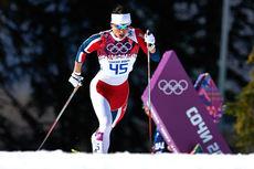 Marit Bjørgen i Sotsji-OL 2014. Foto: NordicFocus.