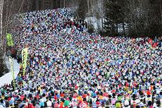 Fra Vasaloppet 2013. Foto: Rauschendorfer/NordicFocus.