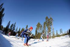 Fra Vasaloppet. Foto: Rauschendorfer/NordicFocus.