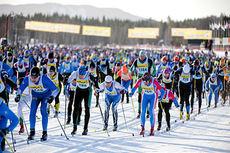 Fra StafettVasan 2012. Foto: Ulf Palm/Vasaloppet.