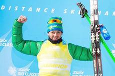 Johan Kjølstad fra Team United Bakeries vant Swix Ski Classics 2014 sammenlagt. Foto: Magnus Östh/Swix Ski Classics.