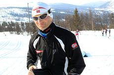 Kristen Skjeldal fra Bulken under NM del 2 på Gålå i 2014. Foto: Erik Borg.