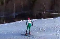 Utsnitt fra filmen Nordseter ned 2014 i regi av NTG Lillehammer Skiskyting sin YouTube-kanal. Foto: YouTube/NTG Lillehammer.