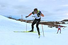 Petter Northug jr. jobber seg oppover Monsterbakken Vassfjellet 2014. I mål ble det en 18. plass. Foto: Kjersti Solvoll Bakketun Tronvoll.