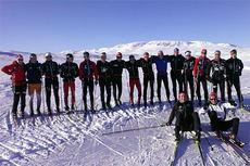 Gruppebilde fra NTG Geilo Langrenn og deres Team Rekrutt. Foto: NTG Geilo.