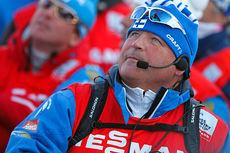 Magnar Dalen i forbindelse med verdenscupen i Drammen 2013. Foto: Laiho/NordicFocus.