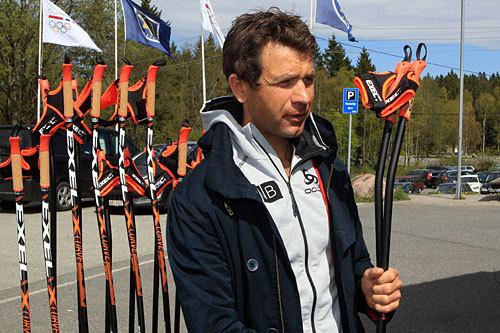 Ole Einar Bjørndalen. Foto: Erik Borg.
