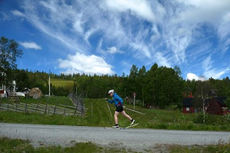Fra Vålådalens nye rulleskibane. Foto: Vålådalens Fjällstation