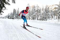 Ilia Chernousov under Tour de Ski vinteren 2014 på etappen fra Cortina til Toblach. Foto: Felgenhauer/NordicFocus.