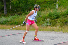 Solfrid Braathen underveis i Idre Fjäll Hill Climb. Foto: Team SkiProAm.