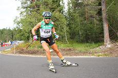 Therese Johaug under Toppidrettsveka 2014. Foto: Geir Nilsen/Langrenn.com.