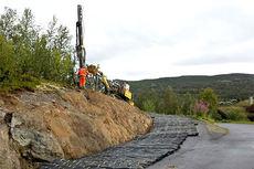 Jonassvingen i Beitosprintens løyper, sett fra sør. Foto: Erik Østli/Øystre Slidre IL.