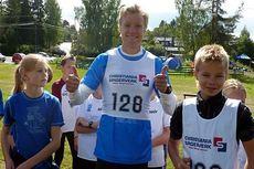 Lagleder Eirik Brandsdal klar for start i Multisportstafetten 2014. Foto: Multisportuka