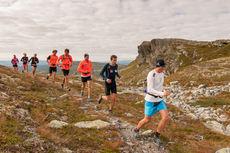 Løpetur på Skeikampen i forbindelse med rekrutt- og regionallagenes samling i august 2014. Foto: Jon Gunnar Henriksen.