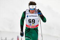 Callum Watson i aksjon under verdenscupen i Davos 2013. Foto: Felgenhauer/NordicFocus.
