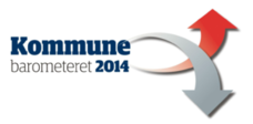 Logo Kommunebarometeret 2014