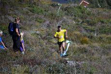 Johan Bugge fra Eidsvåg vant Stornebba Opp 2014, akkurat som han gjorde året før. Arrangørfoto.