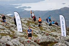 Illustrasjonsbilde fra Fonna Opp, som var innlagt i Toppidrettsveka 2014. Løperen i bildet er vinneren av Fonna Opp, Didrik Tønseth. Foto: Geir Nilsen/Langrenn.com.