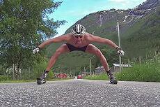 Statkraft og Wang Toppidrett på Sognefjellet 2014. Foto: Skjermdump fra Youtube.
