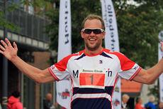 Anders Stenbrenden er med i kampen om trippelseier i Montebellotrippelen 2014. Her fra 2013-utgaven av Montebelloløpet. Arrangørfoto.