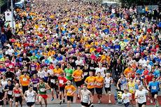 Oslo Maraton 2013. Arrangørfoto.
