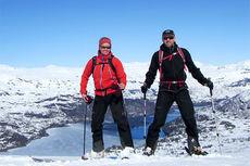 Tina Bay og ektemannen Tarjei Otterholm. Foto: Privat.