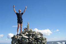 Kristen Aaby motiveres av å ikke prestere dårligere enn tidligere år. Foto: Privat.