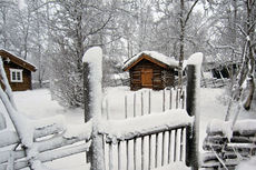 Det har snødd store mengder på Beitostølen torsdag. Foto: DestinasjonsKirurgene.