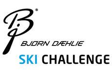Logo for langløpscupen Bjørn Dæhlie Ski Challenge.