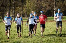 Deler av Team Coop på plass i Vålådalen. Foto: Team Coop.