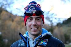 Eldar Rønning på samling med skilandslaget i Val Senales høsten 2014. Foto: Birk Eirik Fjeld.
