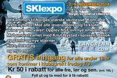 Rabattkupong fra Langrenn.com til Skiexpo 2014.