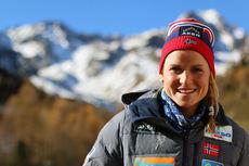 Marthe Kristoffersen på samling med skilandslaget i Val Senales høsten 2014. Foto: Birk Eirik Fjeld.