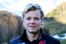 Eirik Brandsdal på samling med skilandslaget i Val Senales høsten 2014. Foto: Birk Eirik Fjeld.