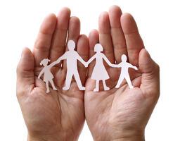 Illustrasjonsfoto omsorg familie