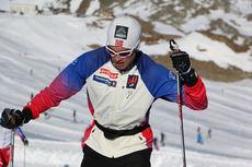 Tomas Northug på høydesamling med landslaget i Val Senales høsten 2014. Foto: Birk Eirik Fjeld.