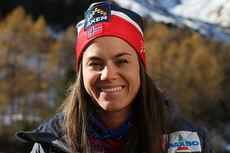 Heidi Weng på høydesamling med landslaget i Val Senales høsten 2014. Foto: Birk Eirik Fjeld.