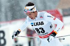 Marcus Hellner endte på sjuendeplass i 15 km fri i Gällivare søndag. Foto: Michael Renström / Imega Promotion.